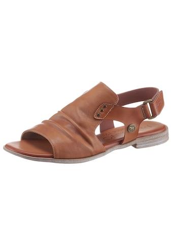 Mustang Shoes Sandale, mit Klettverschluss kaufen