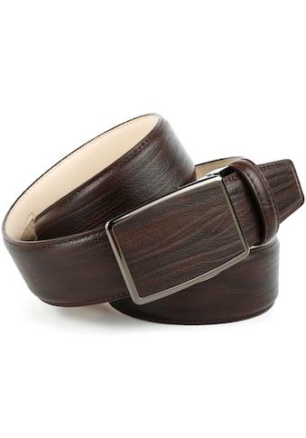 Anthoni Crown Ledergürtel, für Jeans in Mocca kaufen