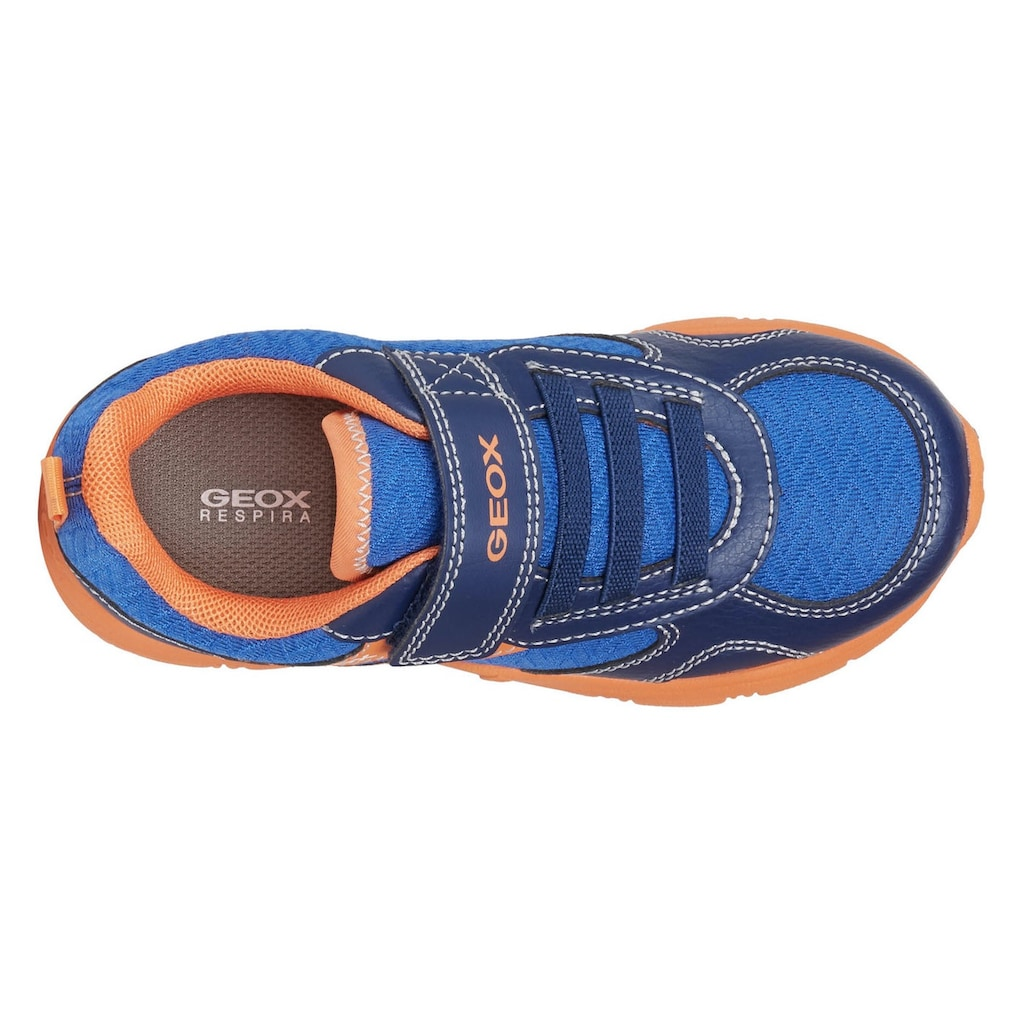 Geox Kids Sneaker »NEW TORQUE BOY«, mit herausnehmbarer Innensohle