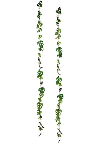 Creativ green Kunstranke »Splitphiloblattgirlande«, 2er Set kaufen