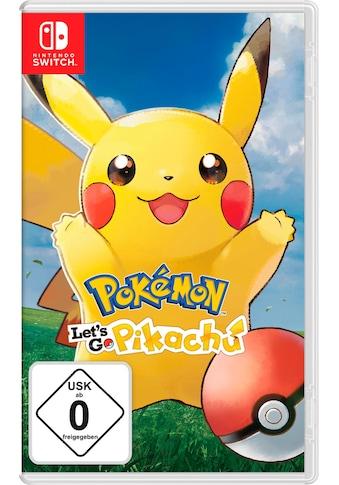 Nintendo Switch Spiel »Pokémon: Let's Go, Pikachu!«, Nintendo Switch kaufen