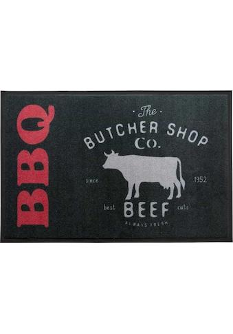Primaflor-Ideen in Textil Fussmatte »BBQ Butcher«, rechteckig, 5 mm Höhe,... kaufen