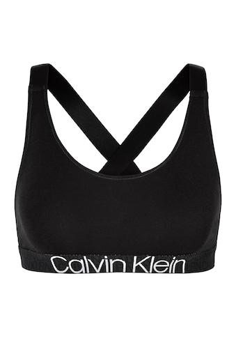 Calvin Klein Bustier »CK RECONSIDERED«, Mit Logo-Jacquardmuster kaufen