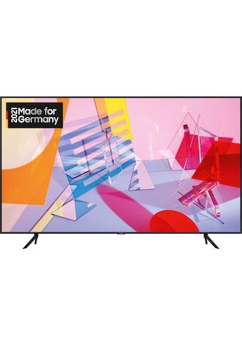 "Samsung QLED-Fernseher »GQ65Q60TGU«, 163 cm/65 "", 4K Ultra HD, Smart-TV kaufen"