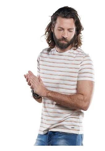 emilio adani Rundhals T-Shirt mit besonderem Farbeffekt kaufen