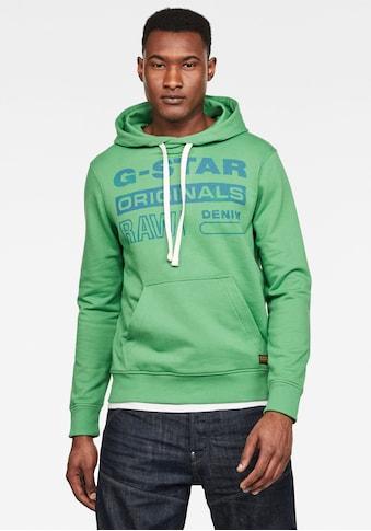 G - Star RAW Kapuzensweatshirt »Originals« kaufen