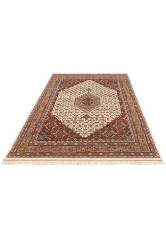 DELAVITA Orientteppich »Fares«, rechteckig, 12 mm Höhe, handgeknüpft, mit Fransen,... kaufen