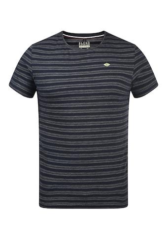 Blend Rundhalsshirt »20709763«, T-Shirt mit Muster kaufen