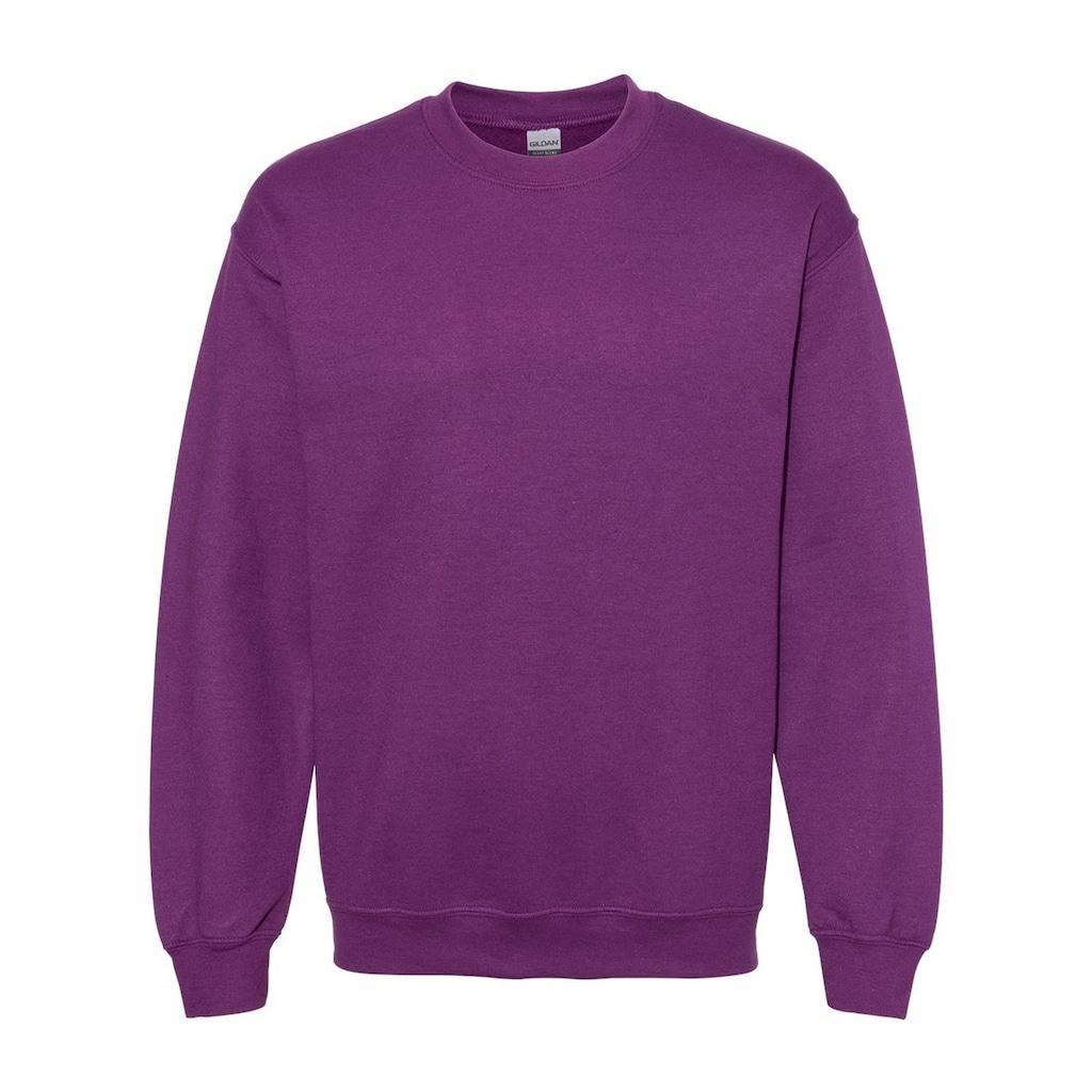 Gildan Rundhalspullover »Heavy Blend Unisex Sweatshirt mit Rundhalsausschnitt«