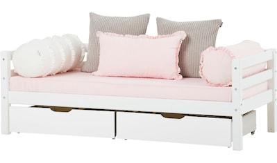 Hoppekids Einzelbett »BASIC«, (Set, 2 St., Bett und Matratzen) kaufen