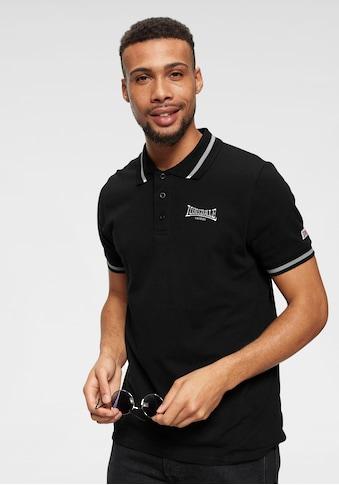 Lonsdale Poloshirt »CAUSTON«, Mit Logostickerei kaufen
