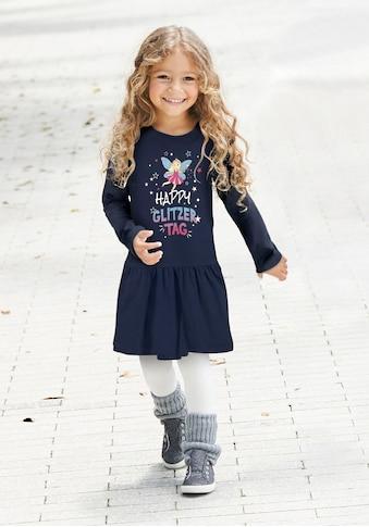 Arizona Jerseykleid »HAPPY GLITZER TAG« kaufen