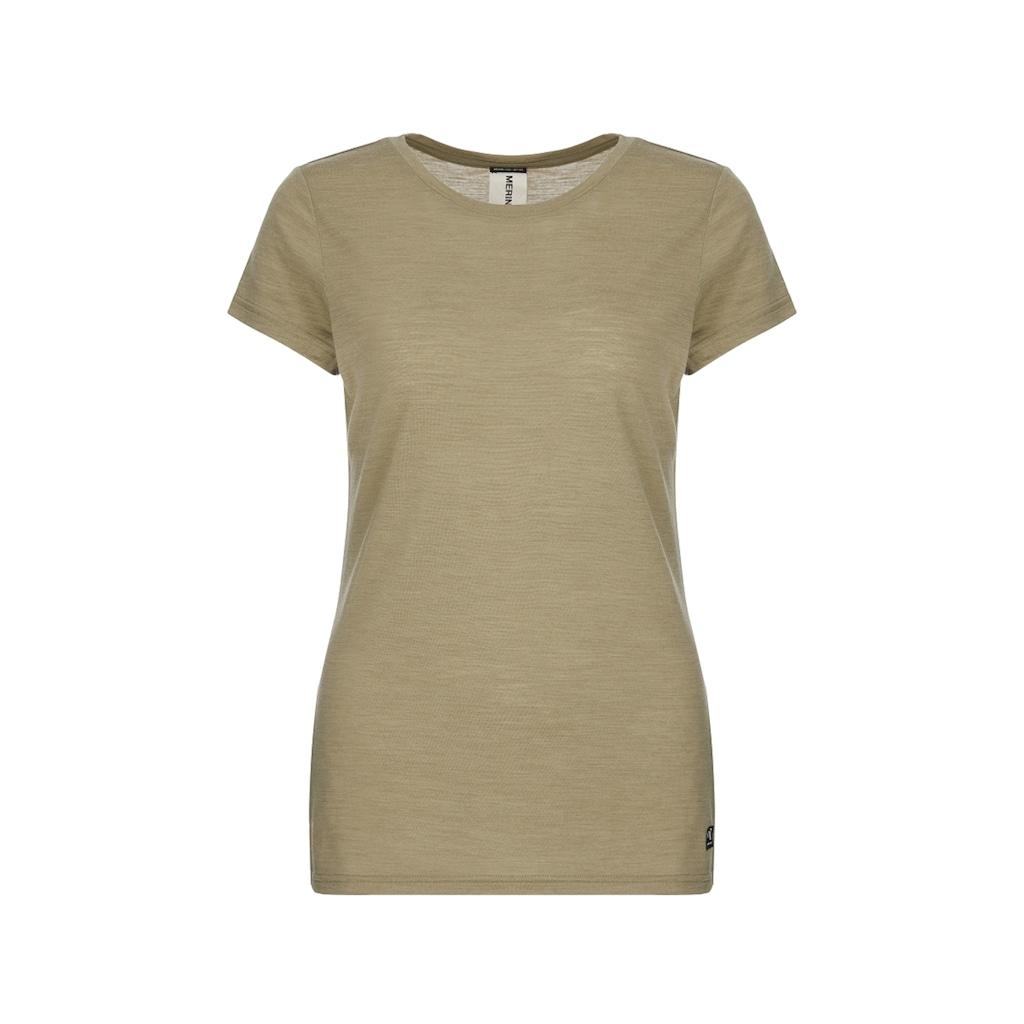 SUPER.NATURAL T-Shirt »W EVERYDAY TEE«, perfekter Merino-Materialmix