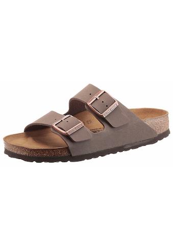 Birkenstock Pantolette »ARIZONA BF«, in Schuhweite schmal, mit ergonomisch geformtem... kaufen