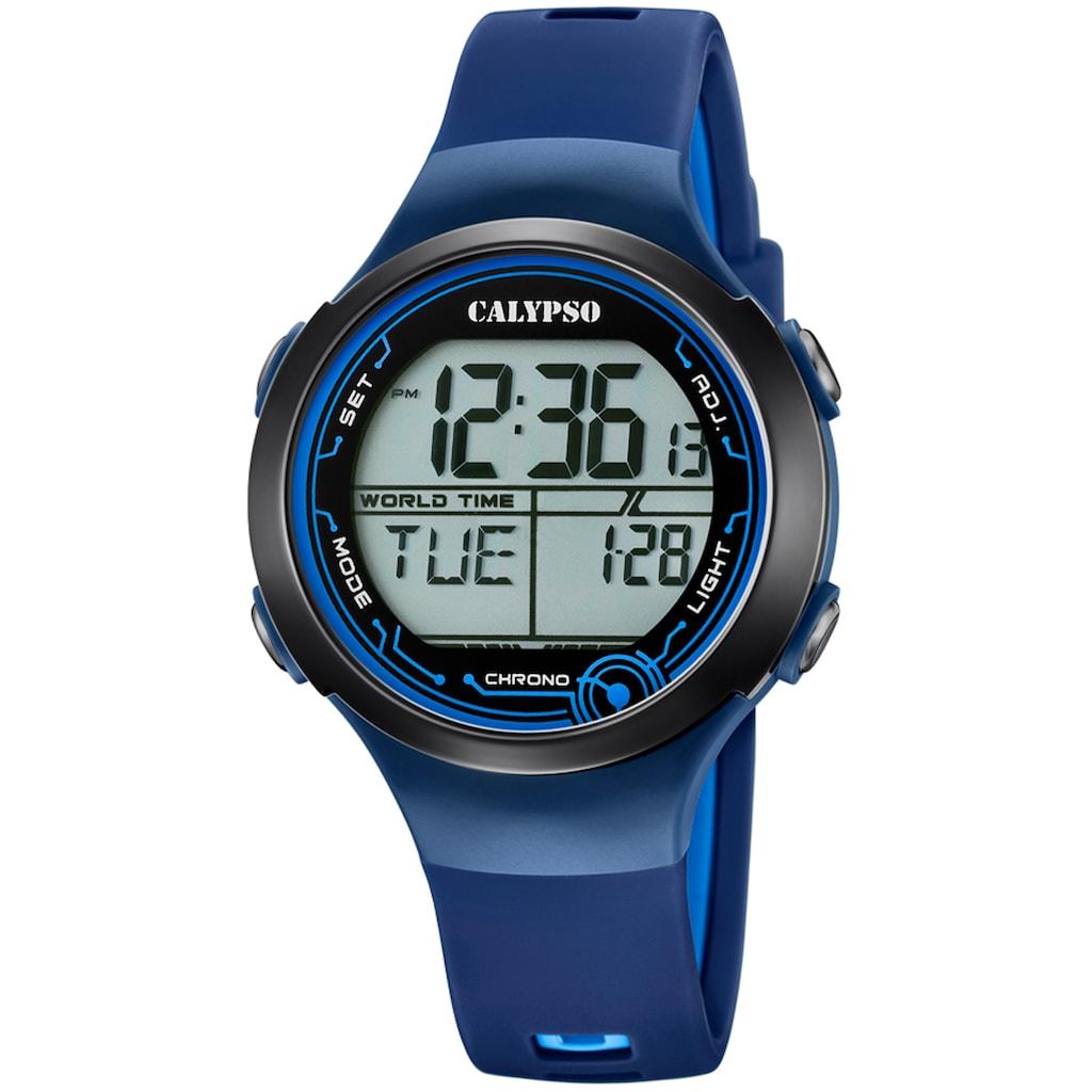CALYPSO WATCHES Chronograph »Digital Crush, K5799/5«