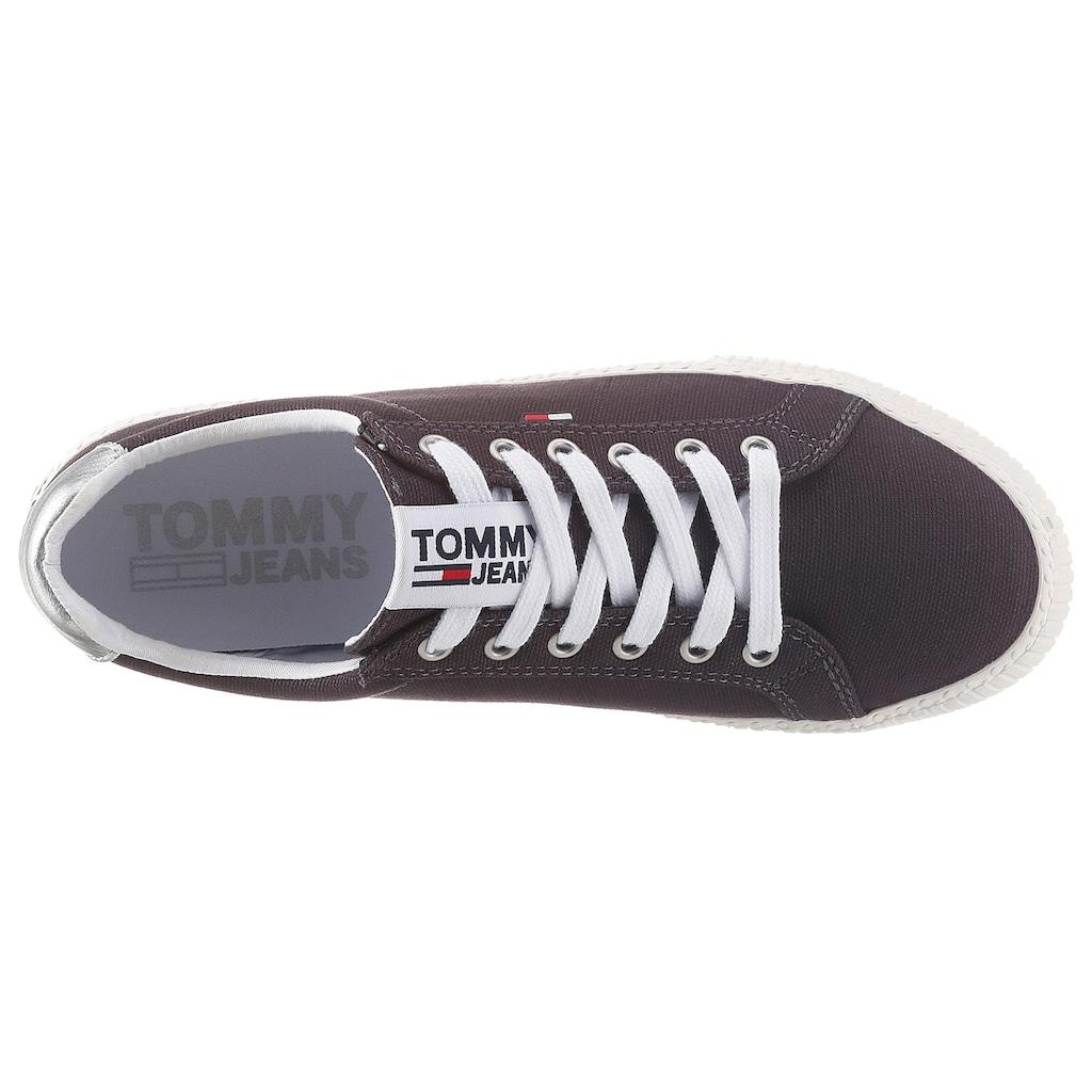 Tommy Jeans Sneaker »HAZEL 1C1«, mit Kontrastbesatz an der Ferse