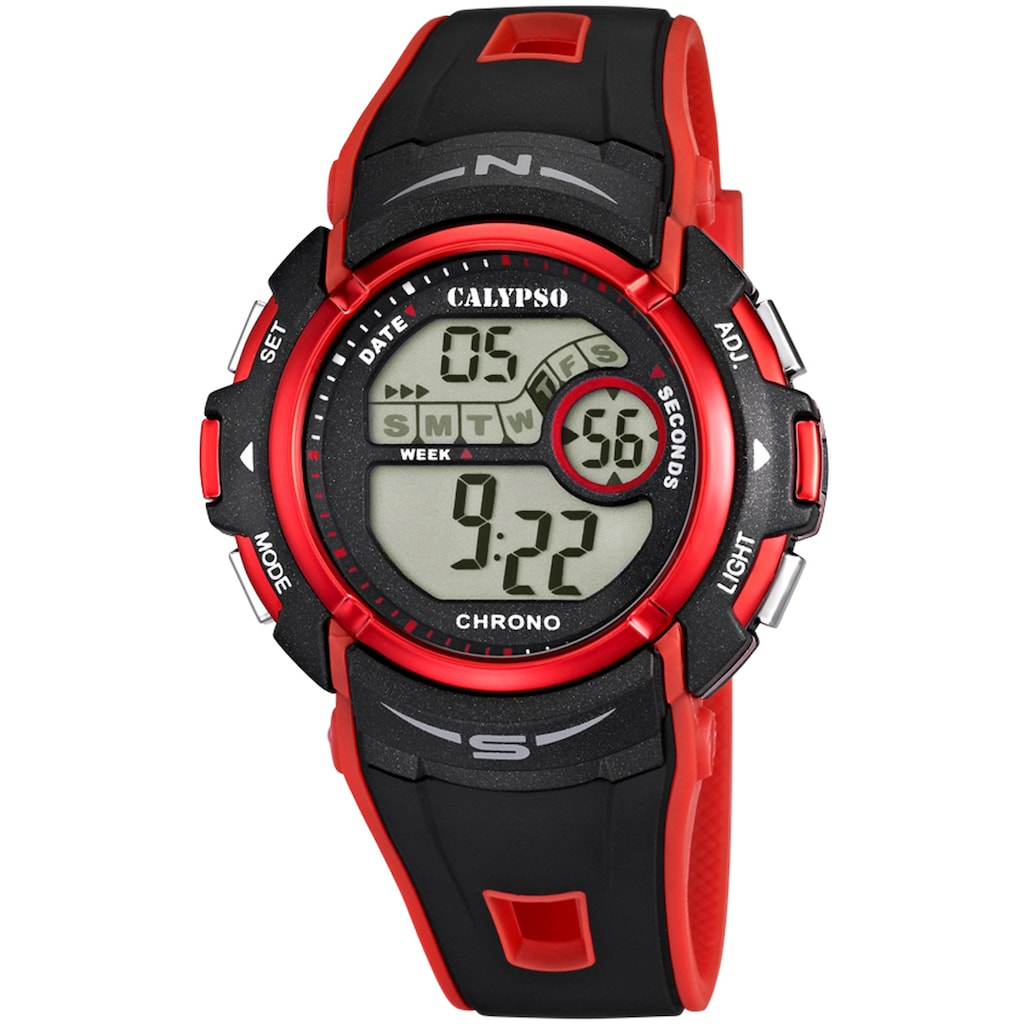 CALYPSO WATCHES Chronograph »Digital For Man, K5610/5«