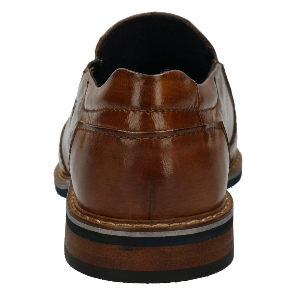 bugatti Slipper »Rafo Extra Komfort«, mit Extra Comfort 2-fitting System
