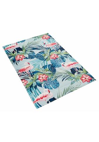 Böing Carpet Teppich »Lovely Kids 410«, rechteckig, 6 mm Höhe, Motiv Flamingo und... kaufen