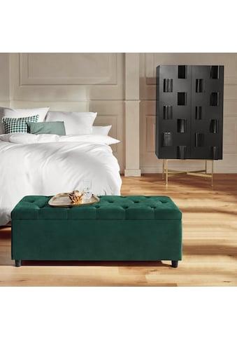 Guido Maria Kretschmer Home&Living Bettbank »Relaxy«, gesteppt, mit Staufach kaufen