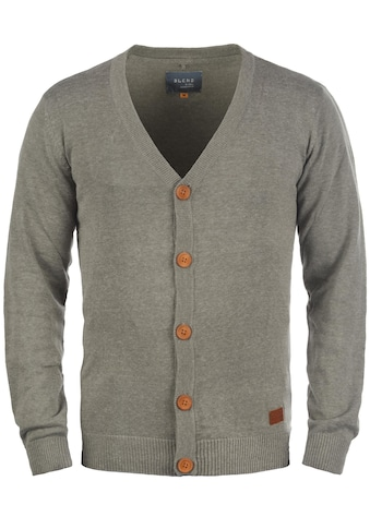 Blend Cardigan »Lennard«, Strickjacke mit Ton-in-Ton Ellenbogenpatches kaufen