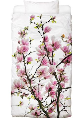 Juniqe Bettwäsche »Magnolia Pink 2«, In vielen weiteren Designs erhältlich kaufen