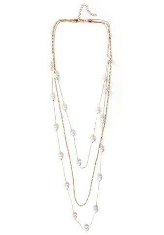 J.Jayz Lange Kette »elegant, auffallend, im mehrreihigen Stil«, mit Glassteinen und... kaufen