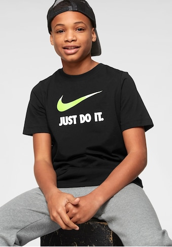 Nike Sportswear T - Shirt »BOYS NIKE SPORTSWEAR TEE JUST DO IT SWOOSH« kaufen
