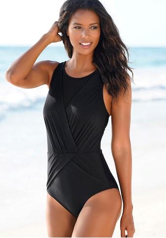 LASCANA Badeanzug, mit Mesh-Einsatz kaufen