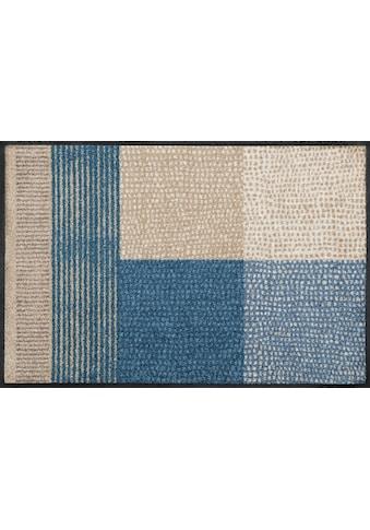 wash+dry by Kleen-Tex Fussmatte »Lanas«, rechteckig, 7 mm Höhe, Schmutzfangmatte, In-... kaufen