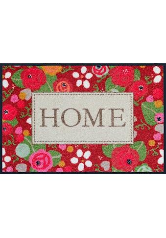 wash+dry by Kleen-Tex Fussmatte »Rose Cottage«, rechteckig, 7 mm Höhe,... kaufen