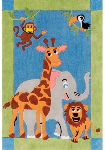 Böing Carpet Kinderteppich »Kids 1363«, rechteckig, 10 mm Höhe, Konturenschnitt kaufen