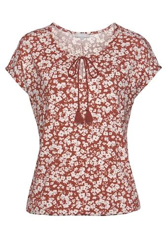 Tamaris Blusenshirt, mit Blumenprint kaufen