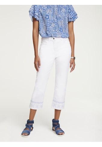 LINEA TESINI by Heine Push-up-Jeans, mit Stickerei kaufen