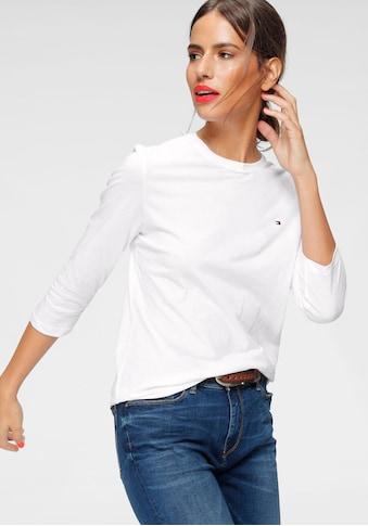 TOMMY HILFIGER T - Shirt »HERITAGE CREW NECK« kaufen