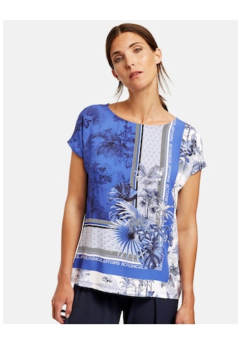 GERRY WEBER T - Shirt 1/2 Arm »Shirt mit Patchprint« kaufen