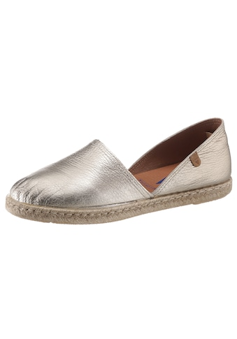 VERBENAS Espadrille »Carmen«, in Metallic-Optik kaufen