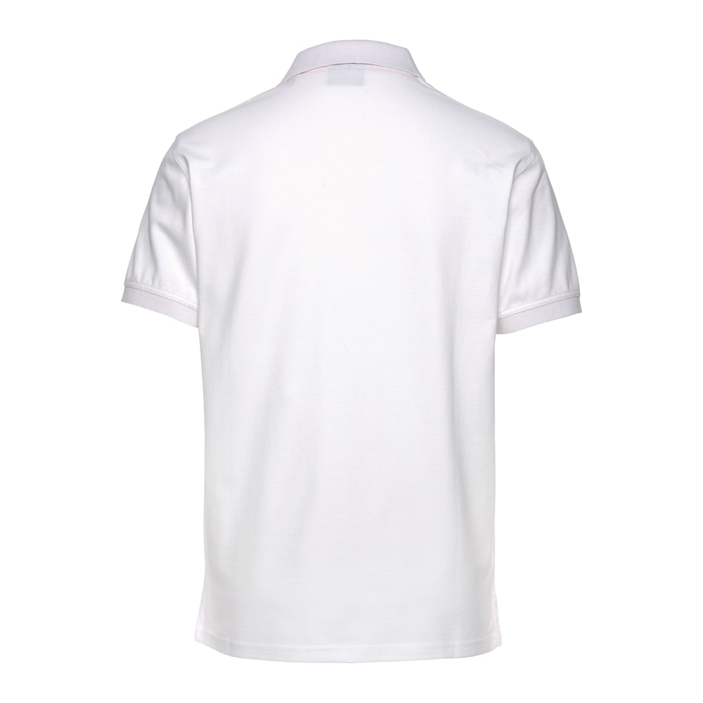 Gant Poloshirt »CONTRAST COLLAR PIQUE RUGGER«, formstabil durch Elasthan