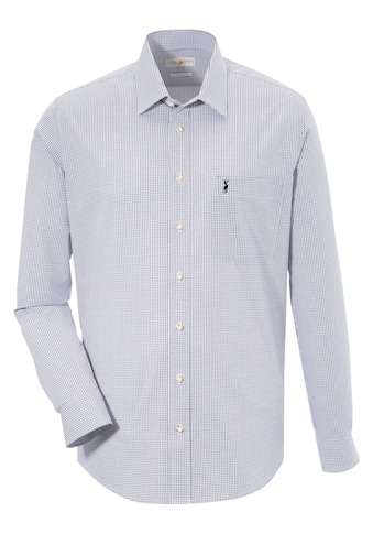 Almsach Trachtenhemd, im klassischen Karo-Design kaufen