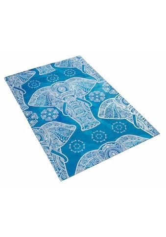 Böing Carpet Kinderteppich »Lovely Kids 411«, rechteckig, 6 mm Höhe, Motiv Elefant... kaufen