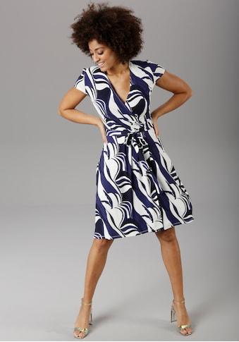 Aniston SELECTED Sommerkleid, im grafischen Druck kaufen