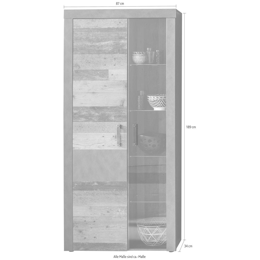 trendteam Vitrine »Indy«, Höhe 189 cm