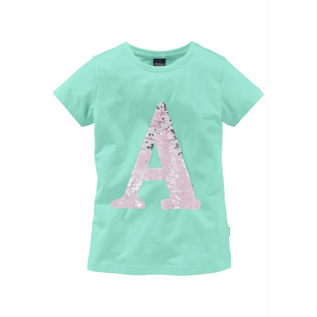 Arizona T-Shirt, mit Wendepailletten