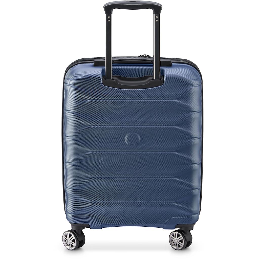 Delsey Hartschalen-Trolley »Meteor, 55 cm, dark blue«, 4 Rollen, slim line