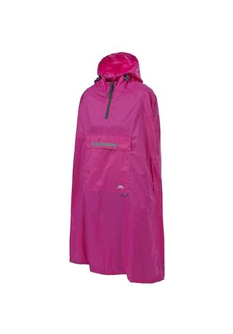 Trespass Regenjacke »Qikpac Unisex Regen Poncho mit Kapuze« kaufen