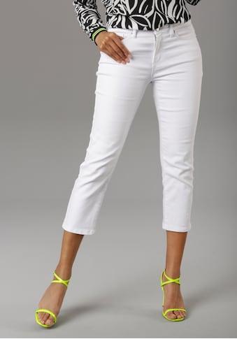 Aniston SELECTED Straight-Jeans, in verkürzter cropped Länge - NEUE KOLLEKTION kaufen