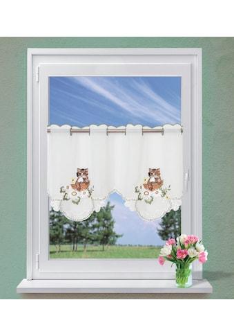 Dreams Scheibengardine »Katze« kaufen