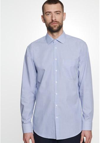 seidensticker Businesshemd »Regular«, Regular Langarm Kentkragen Streifen kaufen