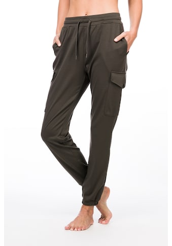 SUPER.NATURAL Jogginghose »W CARGO PANTS«, toller Merino-Materialmix kaufen