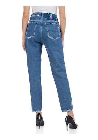Replay 7/8-Jeans »Kiley«, 7/8 Länge mit Farb-und- Used-Effekten kaufen